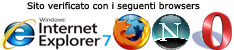 browsers verificati