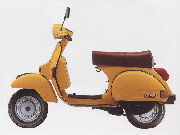 Vespa Yellow Cab