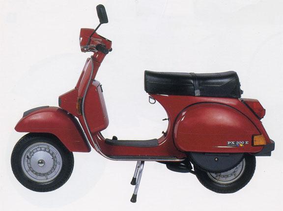 Vespa 200 PX-E Arcobaleno